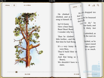 You can turn pageslike with a real book - Apple iPad Review