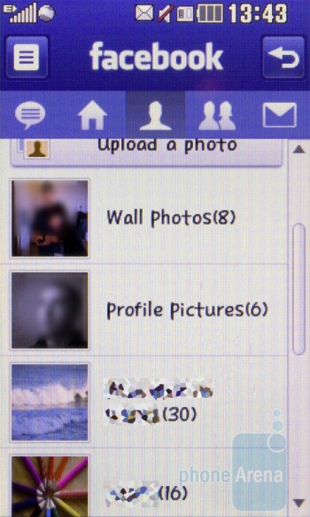 LG Cookie Fresh GS290 has a Facebook app - LG Cookie Fresh GS290 Review