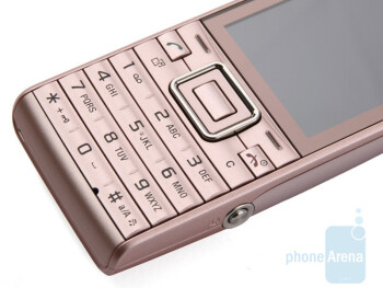 Buttons are easy to press - The sides of the Sony Ericsson Elm - Sony Ericsson Elm Review