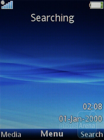 Home screen - Sony Ericsson Elm Review