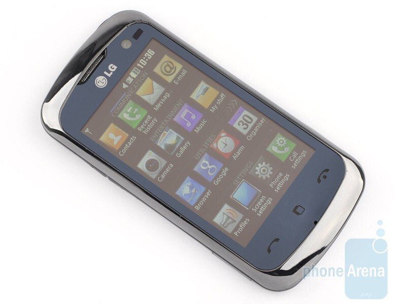 The sides of the LG Cookie Gig KM570 - LG Cookie Gig KM570 Review