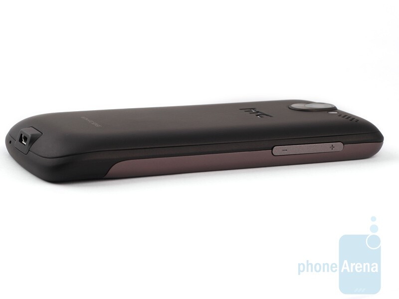 The sides of the HTC Desire - HTC Desire Review