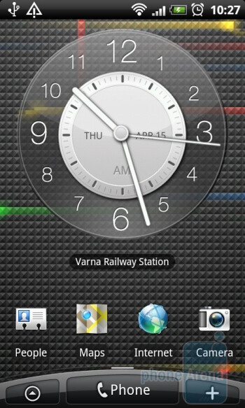Live Wallpapers - The home screen of the HTC Desire - HTC Desire Review