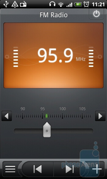 FM Radio - HTC Desire Review