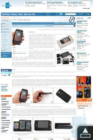 Opera Mobile - HTC HD mini Review
