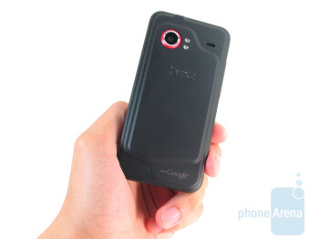 HTC Droid Incredible just doesn't breathe in anything remarkable in its  build - HTC Droid Incredible Review