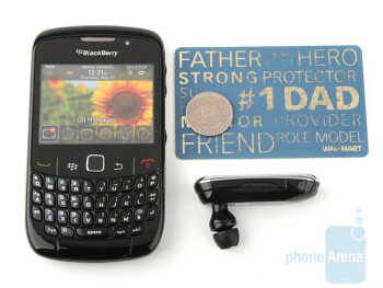 Next tothe RIM BlackBerry Curve 8520 - i.Tech SolarVoice 908 Review