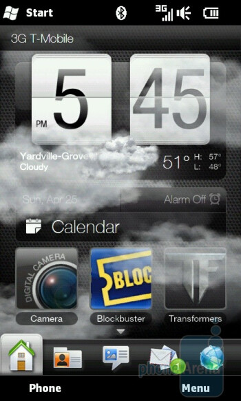 Sense UI - HTC HD2 for T-Mobile Review