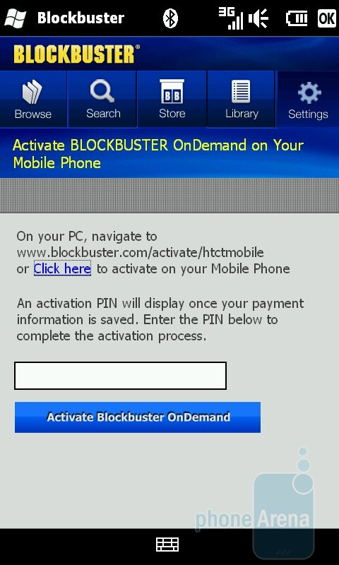 The Blockbuster app - HTC HD2 for T-Mobile Review