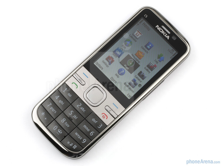 The sides of the Nokia C5 - Nokia C5 Review