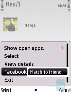 You can now link contacts to their corresponding Facebook profiles - Nokia C5 Review