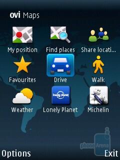 Ovi Maps - Nokia C5 Review