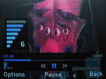 Video playback - Pantech Link Review