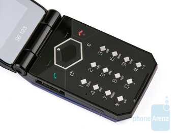 The buttons are comfortable - Sony Ericsson Jalou Review