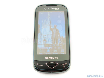 The sides of the Samsung Reality U820 - Samsung Reality U820 Review