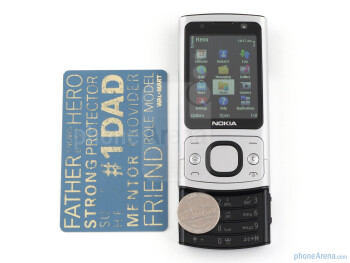 The in-hand feel of the Nokia 6700 slide is what it's meant to be - superb - Nokia 6700 slide Review
