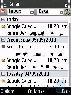 Nokia Messaging - Nokia 6700 slide Review