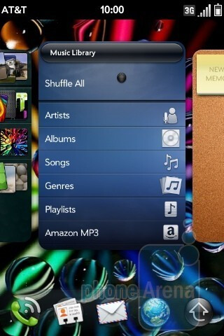 Music player - Palm Pre Plus for AT&T Review