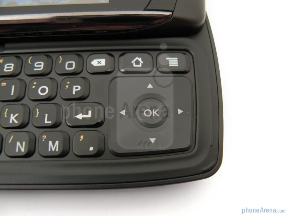 D-pad - LG Ally VS740 Review