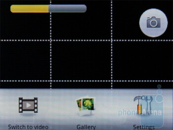 Camera interface - ACER beTouch E110 Review