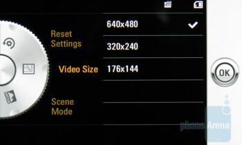 The camera interface of LG Fathom VS750 - LG Fathom VS750 Review
