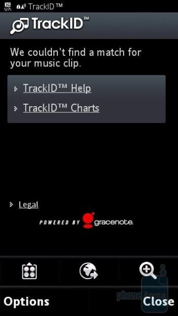 TrackID - Sony Ericsson Vivaz pro Review