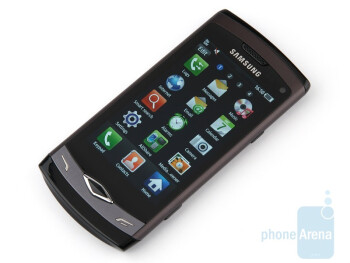 The resolution is 480x800 pixels, which is very good for this screen size - Samsung Wave S8500 Review