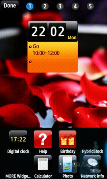 The Samsung Wave S8500 uses TouchWiz 3.0 - Samsung Wave S8500 Review