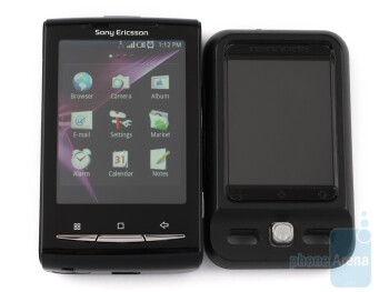 Next to Neonode N2 - Sony Ericsson Xperia X10 mini Review