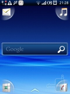 Sony Ericsson Xperia X10 mini runs with personalized Android interface, called UX - Sony Ericsson Xperia X10 mini Review