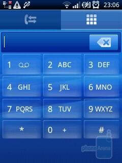 Dialer - Sony Ericsson Xperia X10 mini Review