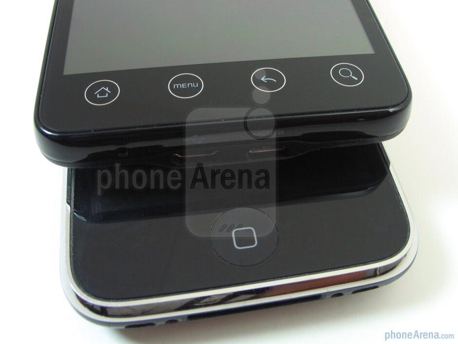 Apple iPhone 3GS and HTC EVO 4G: side by side