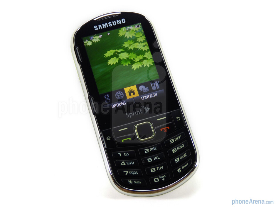 Below the display is the traditional navigational cluster - The Samsung Restore M570 packs a four-row QWERTY keyboard - Samsung Restore M570 Review