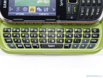 The Samsung Restore M570 packs a four-row QWERTY keyboard - Samsung Restore M570 Review