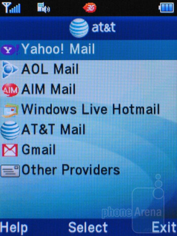 Email - Pantech Breeze II P2000 Review