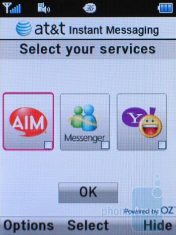 Instant Messaging - Pantech Breeze II P2000 Review