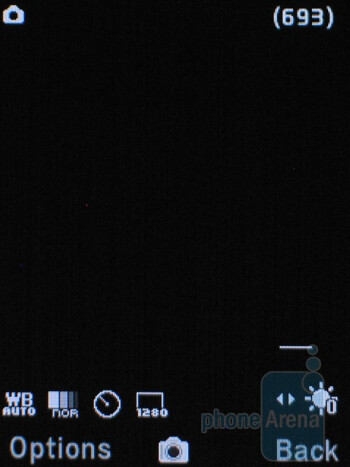 Camera interface - Pantech Breeze II P2000 Review