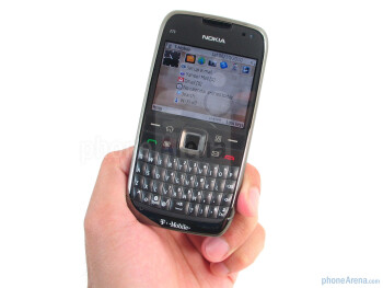 The construction of the Nokia E73 Mode feels solid - Nokia E73 Mode Review