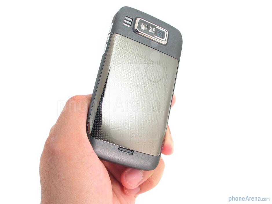 The construction of the Nokia E73 Mode feels solid - Nokia E73 Mode Review