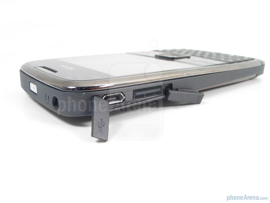 The sides of the Nokia E73 Mode - Nokia E73 Mode Review