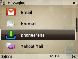 Messaging and email - Nokia E73 Mode Review