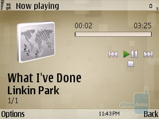 Music player - Watching videos on the Nokia E73 Mode - Nokia E73 Mode Review