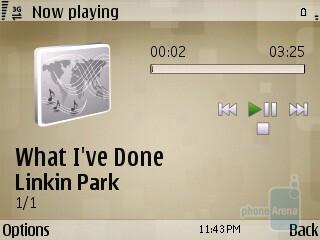 Music player - Watching videos on the Nokia E73 Mode - Nokia E73 Mode Review