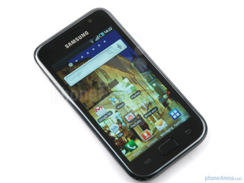 "The 4"" display - Samsung GALAXY S I9000 Review"