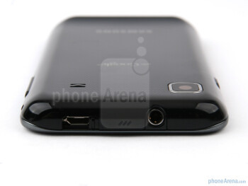 Another nice idea from Samsung is the sliding lid over the microUSB port at the top of the Samsung GALAXY S - Samsung GALAXY S I9000 Review