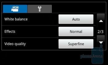 Camera interface - Samsung GALAXY S I9000 Review