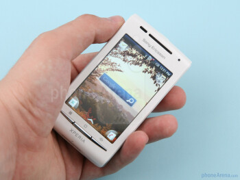 The X8 boasts a 3-inch capacitive LCD screen - Sony Ericsson Xperia X8 Preview