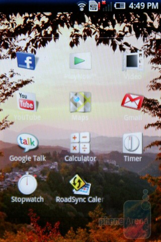 The Sony Ericsson Xperia X8 has a neatly personalized software - Sony Ericsson Xperia X8 Preview