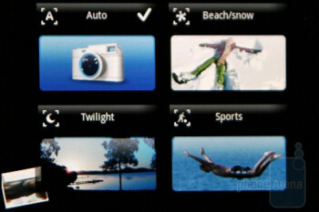 Presets - Sony Ericsson Xperia X8 Preview