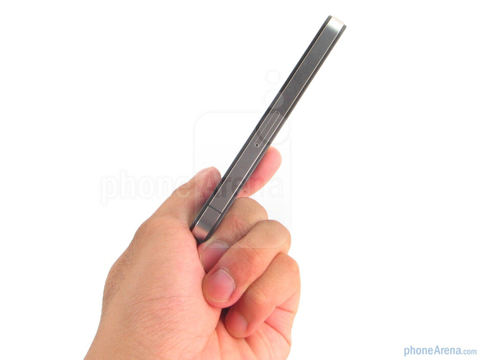 The construction of the Apple iPhone 4 feels solid throughout every nook and cranny - Apple iPhone 4 Review